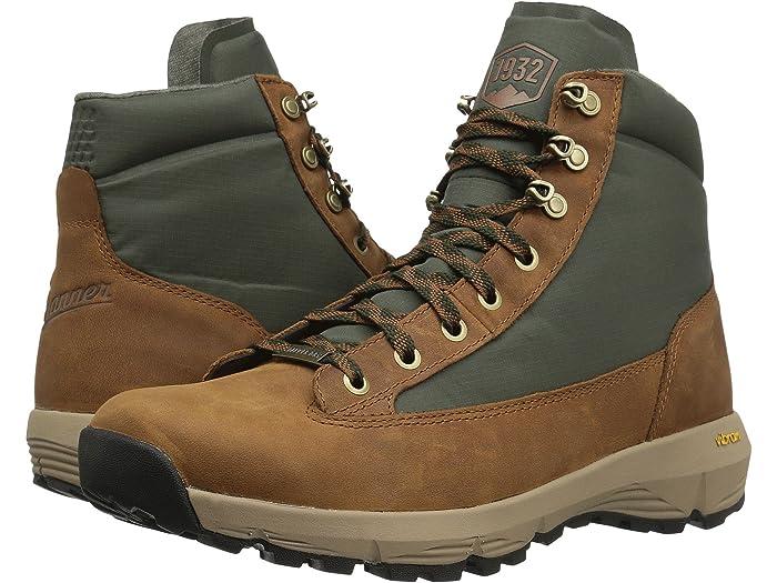 Danner Mens Explorer 650 6 Full Grain Hiking Boot