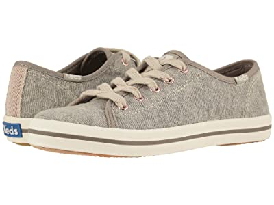 Keds Kids Kickstart Seasonal (Little Kid/Big Kid) (Grey Geo Jersey) Girl