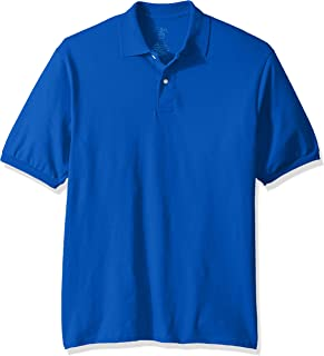Jerzees Men's SpotShield Stain Resistant Polo Shirts (Short & Long Sleeve)