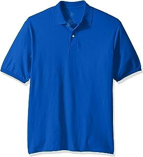 fd7fdcc0 Jerzees Men's Spot Shield Short Sleeve Polo Sport Shirt