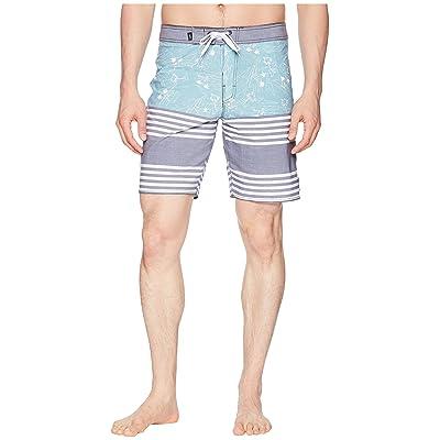 Vans Era Tri-Blend Boardshorts (Dress Blues Island Beach) Men