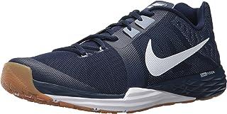 low priced 7164e 5a875 Nike Men's Train Prime Iron DF Cross Trainer, Binary Blue/White/Glacier Grey