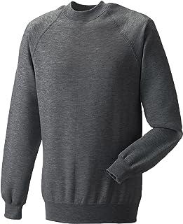 Russell Classic Sweatshirt - Grey - Large