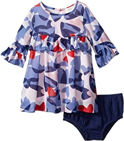 Confetti Hearts Dress (Infant)