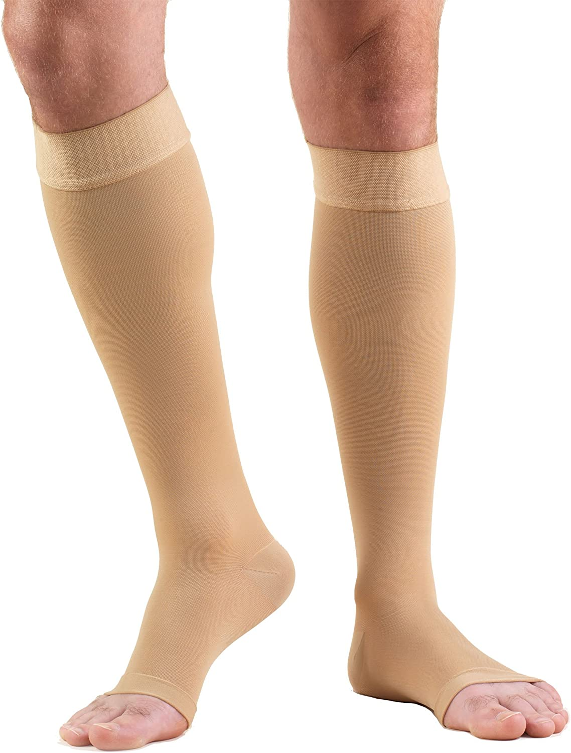 Truform 20-30 mmHg Quality inspection Compression Stockings Omaha Mall Women and for Men Knee