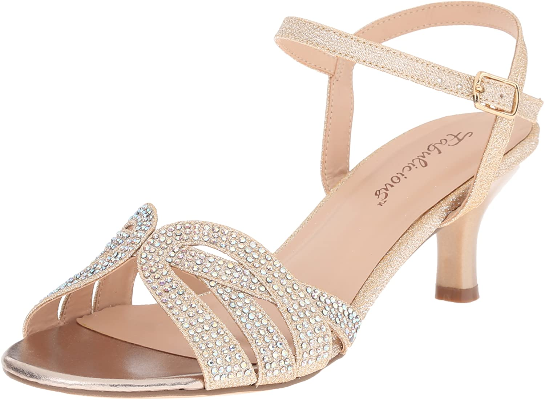 Fabulicious Womens Aud03 Nufa Dress Sandal