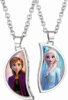 Best elsa and anna necklace Reviews