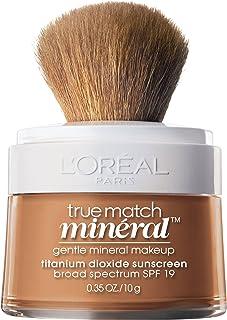 L'Oreal Paris True Match Mineral Loose Powder Foundation, Classic Tan, 0.35oz