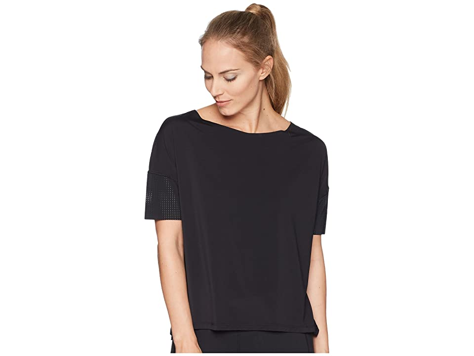 Reebok Perforated Tee (Black) Women