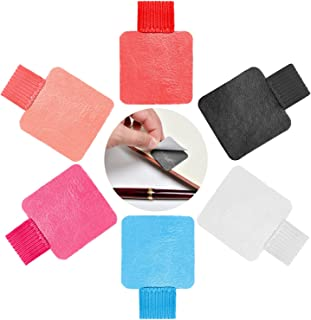 Traveler's Notebook Pen Holder Pen Loop Adhesive with Elastic Band For Tablet, Journals, Clipboards 6 Colors