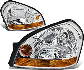 DNA MOTORING HL-OH-056-CH-AM Headlight Assembly Driver And Passenger Side