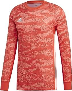 ADIPRO 19 Goalkeeper Jersey Junior GK Shirt Semi Solar Red for Soccer Goalkeeping