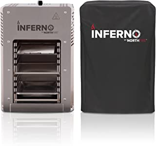 NORTHFIRE INFERCVR Inferno Single Propane Infrared Grill Cover, Black