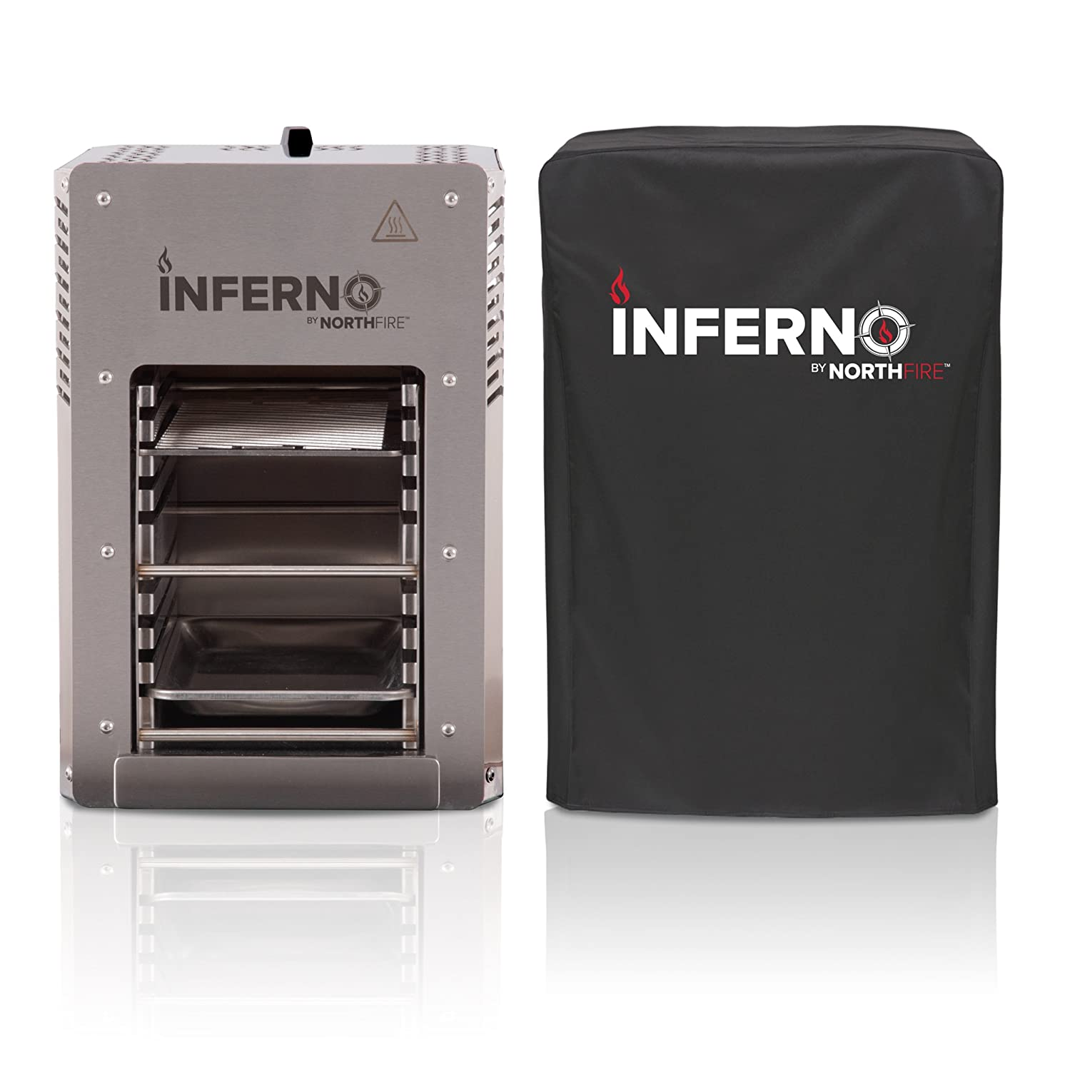 NORTHFIRE INFERCVR Inferno Single Propane Infrared Grill Cover, Black