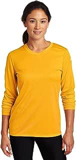 ASICS 女士 Circuit 7 保暖长袖衫 金色 X-S