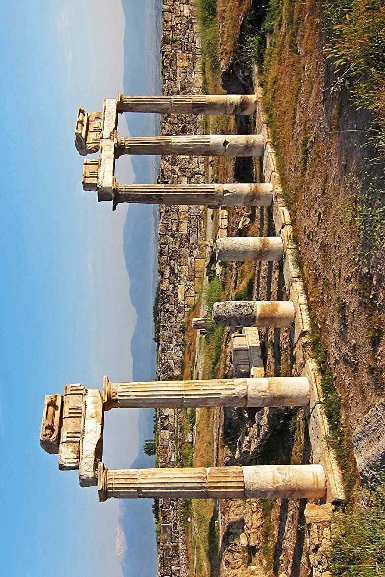 Hieropolis Ruins Pamukkale, Turkey Journal: 150 page lined notebook/diary