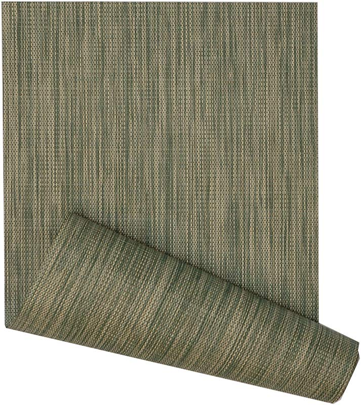 Sweet Pea Linens 72 Inch Green And Tan Wipeable Table Runner