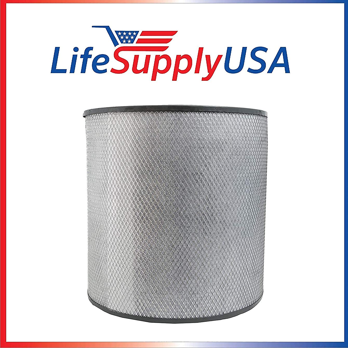 LifeSupplyUSA Replacement Filter for Austin Air HM 400 HealthMate HM-400 HM400 FR400
