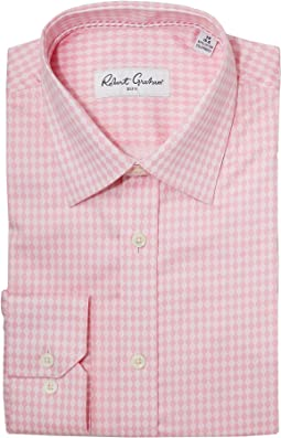 Robert Graham Diamond Tonal Dress Shirt