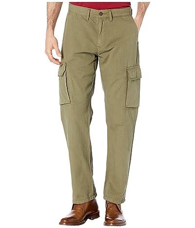 Lucky Brand Ripstop Cargo Pants (Burnt Olive) Men