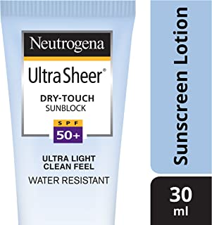 Neutrogena Ultra Sheer Dry Touch Sunblock (SPF 50+ Sunscreen)  30ml
