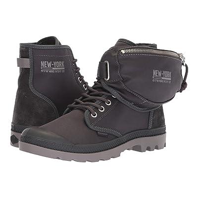Palladium Pampa Solid Ranger NYC (Forged Iron/Cloudburst) Lace-up Boots