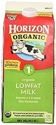 Horizon 1% Lowfat Ultra Pasteurized Milk, Organic, 64 oz