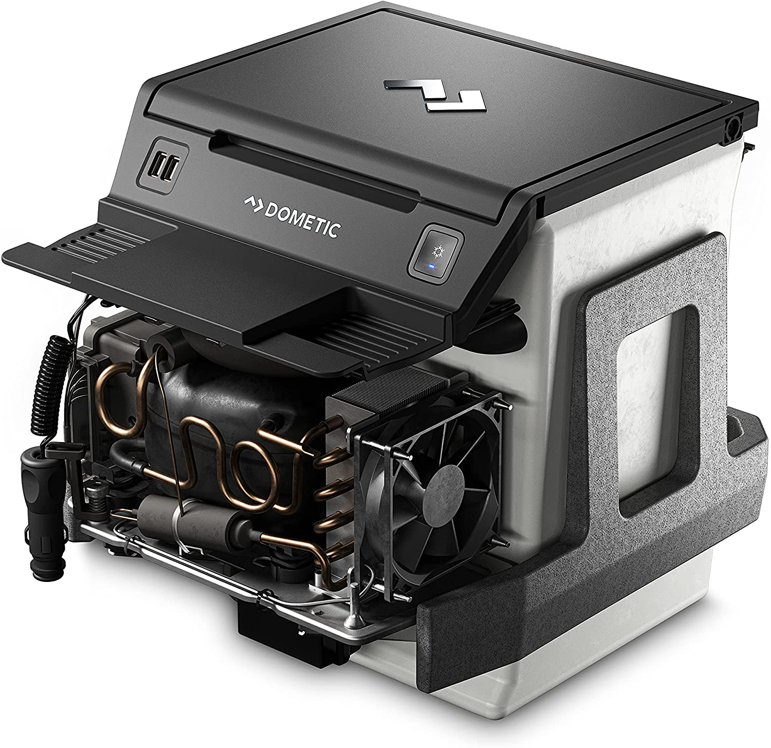 Dometic CCF-T Center Console Refrigerator for Ford Pickups or Ford Expedition, 7.5 liter