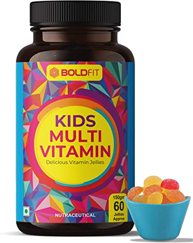 Boldfit Multivitamin Gummies For Kids And Adults For Immunity Support Energy Support Healthy Tasty Multi flavor Gummies For Overall Wellbeing Of The Children 60 Vegetarian Gummies