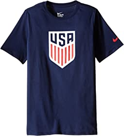 Nike Kids - USA Crest Tee (Little Kids/Big Kids)