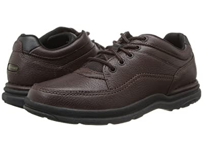 Rockport World Tour Classic (Brown Tumbled Leather) Men