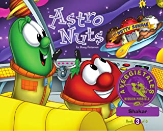 Astro Nuts - VeggieTales Mission Possible Adventure Series #3: Personalized for Shakar (Boy)