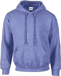 Gildan Heavy Blend Adult Unisex Hooded Sweatshirt/Hoodie (2XL, Heather Sport Royal)