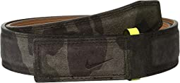 Sleek Modern Covered Plaque - Camo Suede