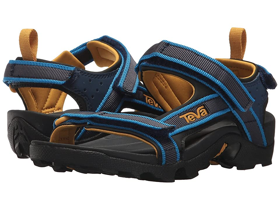 Teva Kids Tanza (Little Kid/Big Kid) (Navy 1) Boys Shoes