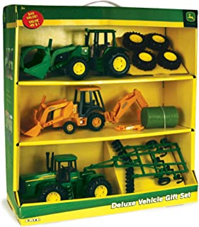 John Deere Deluxe Vehicle Value Toy Set, Pack of 3