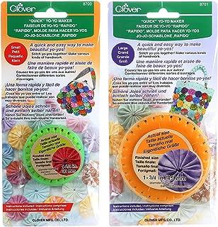 Bundle of Two (2) Quick Yo-Yo Makers: Small (makes 1.25