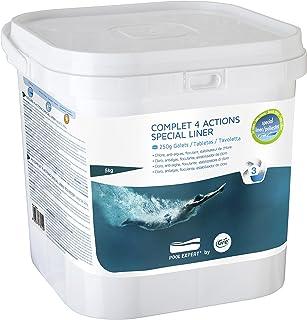 Gre 76012 - Cloro multifuncion para el tratamiento de las piscina- 4 acciones- especial liners- 5 kg