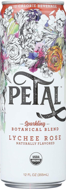 Petal Sparkling Beverage Lychee Rose Nippon regular agency Fl 12 of Pack San Jose Mall Oz