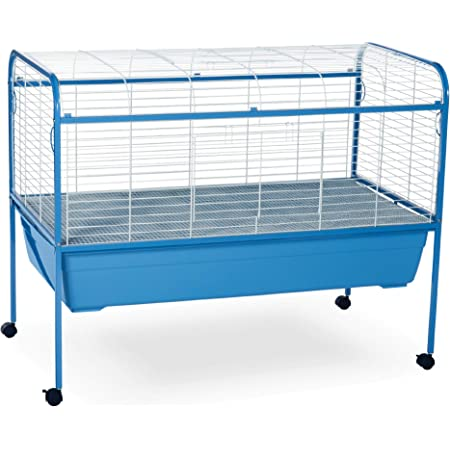 Prevue Hendryx Blue & White Small Animal Cage Stand