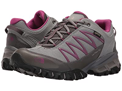 The North Face Ultra 110 GTX(r) (Q-Silver Grey/Wild Aster Purple) Women