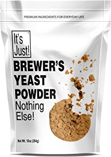 It's Just - Brewers Yeast Powder, Keto Baking, Sourdough Bread, Boost Mother's Milk, Make Lactation Cookies, 10oz