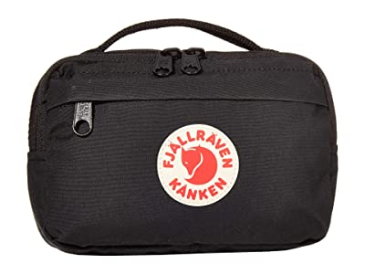 Fjallraven Kanken Hip Pack (Black) Bags