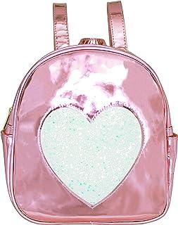 Disco Vibe Backpack Book Bag -Girls & Teen Accessories (Pink Iridescent)