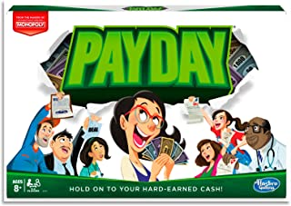 PAYDAY - Family Board Games - 2 to 4 Players - by the makers of MONOPOLY - Ages 8+