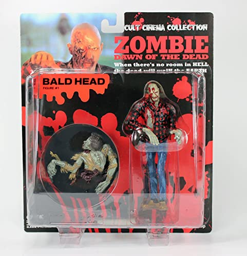 Dawn Of The Dead Zombie Action Figure  1  Bald Head