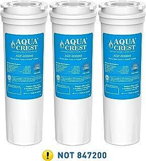 AQUACREST 836848 Refrigerator Water Filter, Compatible with Fisher & Paykel 836848, 836860, E522B, PS2067635, RF90A180DU, EFF-6017A, E402B, E442B, SUPCO WF296 (3 Pack)