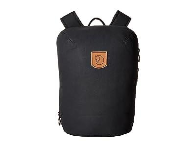 Fjallraven Kiruna Backpack Small (Black) Backpack Bags
