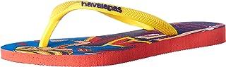 Havaianas Unisex Kids DC Super Hero Girls Sandal Coral, 10 M US Toddler