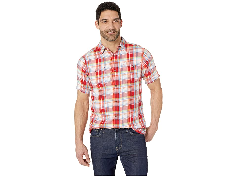 Mountain Khakis Meridian Short Sleeve Shirt (Engine Red) Men